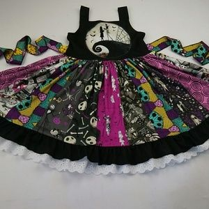 Nightmare Before Christmas Boutique Style Dress